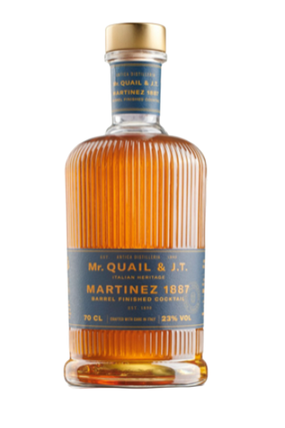 Mr. QUAIL & J.T. Martinez 1887  22% Distilleria Quaglia - 0.70L
