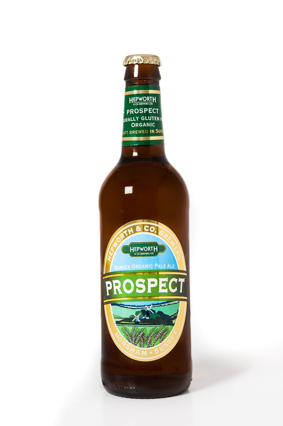 Prospect Organic Pale Ale Hepworth Brewery 500ml