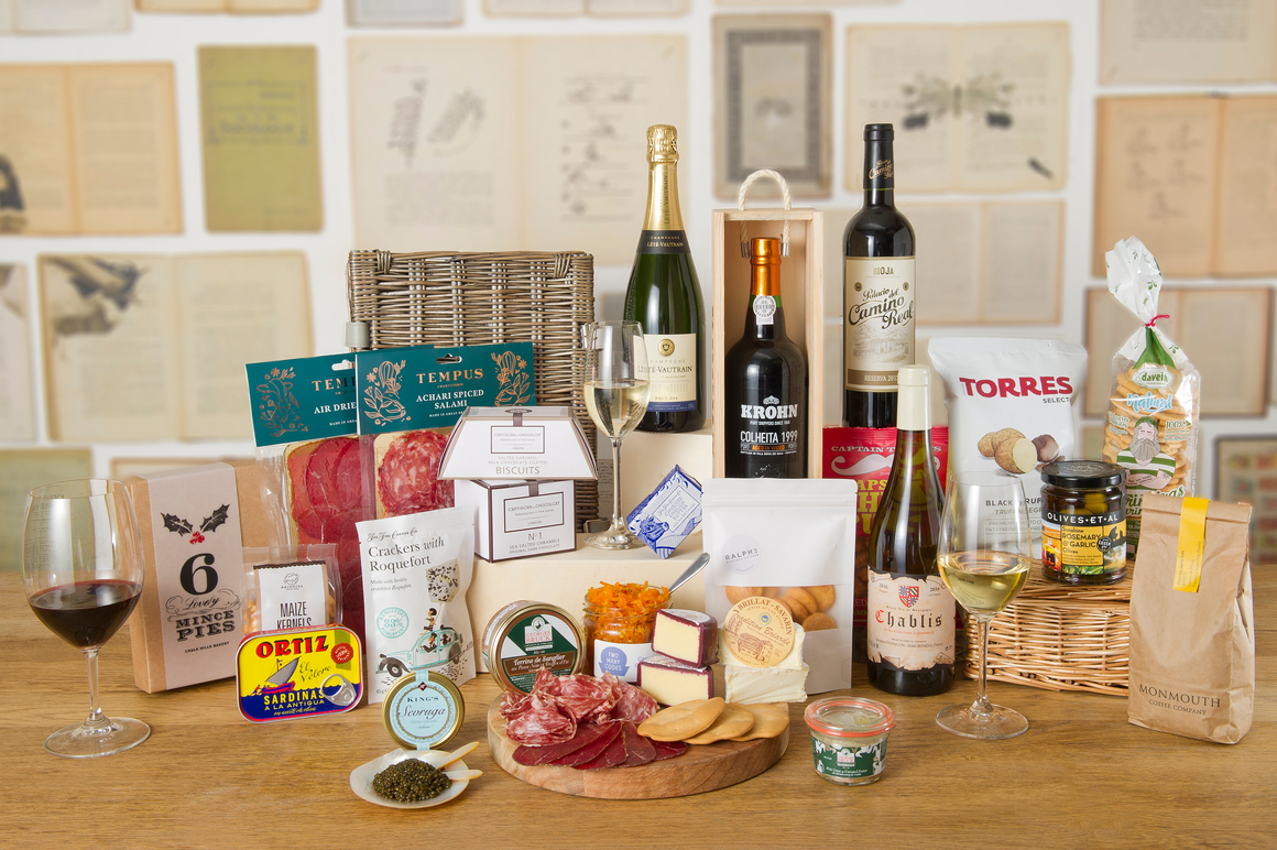 "The ""Unrestrained Delectation"" Hamper"