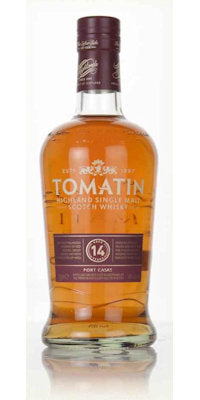 14yo Tomatin Port Wood Finish