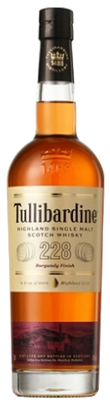 NV Tullibardine 228 Burgundy Finish