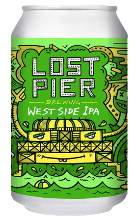 West Side IPA Lost Pier Brewery  Sussex England