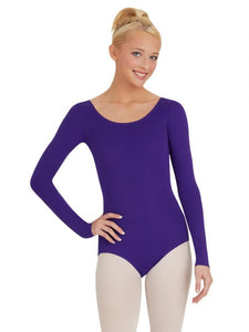 CAPEZIO WOMEN'S LONG SLEEVE LEOTARD