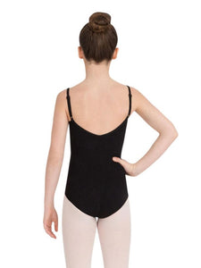 CAPEZIO CHILDREN'S ADJUSTABLE STRAP CAMISOLE LEOTARD