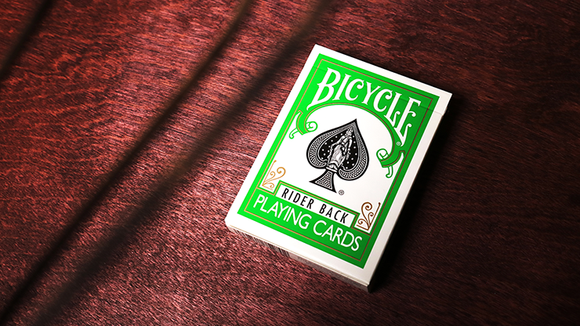 Bicycle GREEN - Baraja Verde (Riderback)