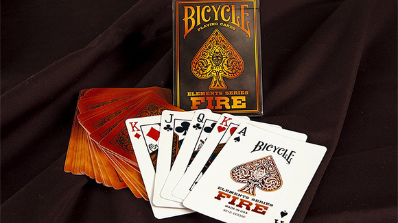 Baraja Bicycle Fire