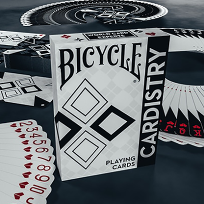 Baraja Bicycle Cardistry Black and White