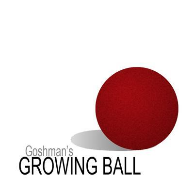 The Growing Ball (Esponja roja grande)