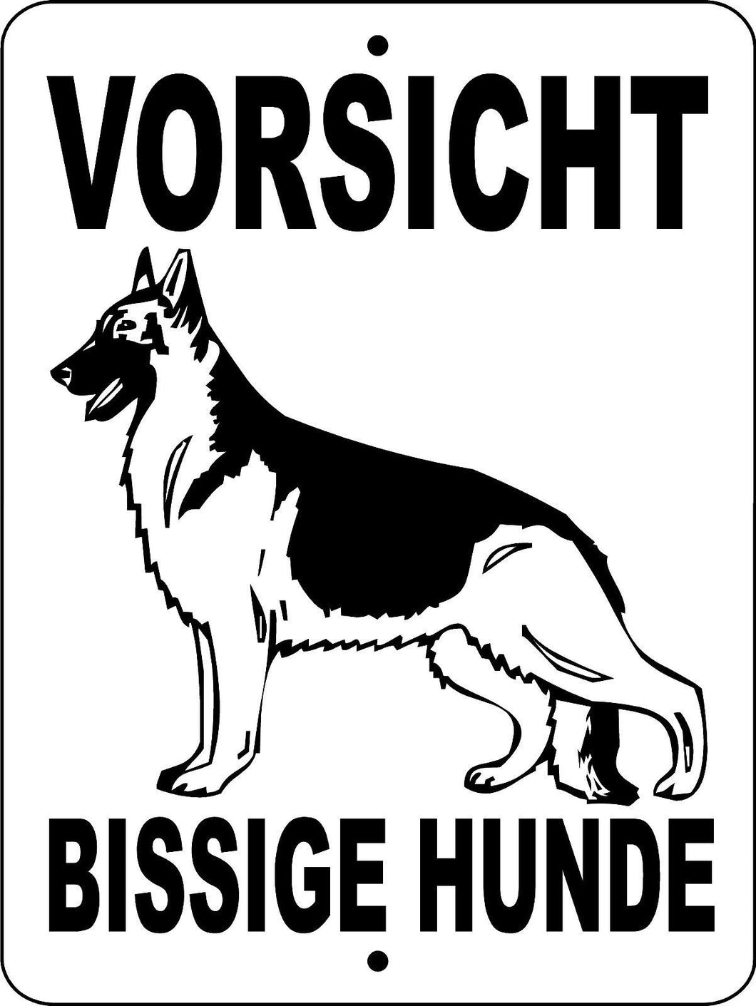 GERMAN SHEPHERD DOG SIGN 2496GSG