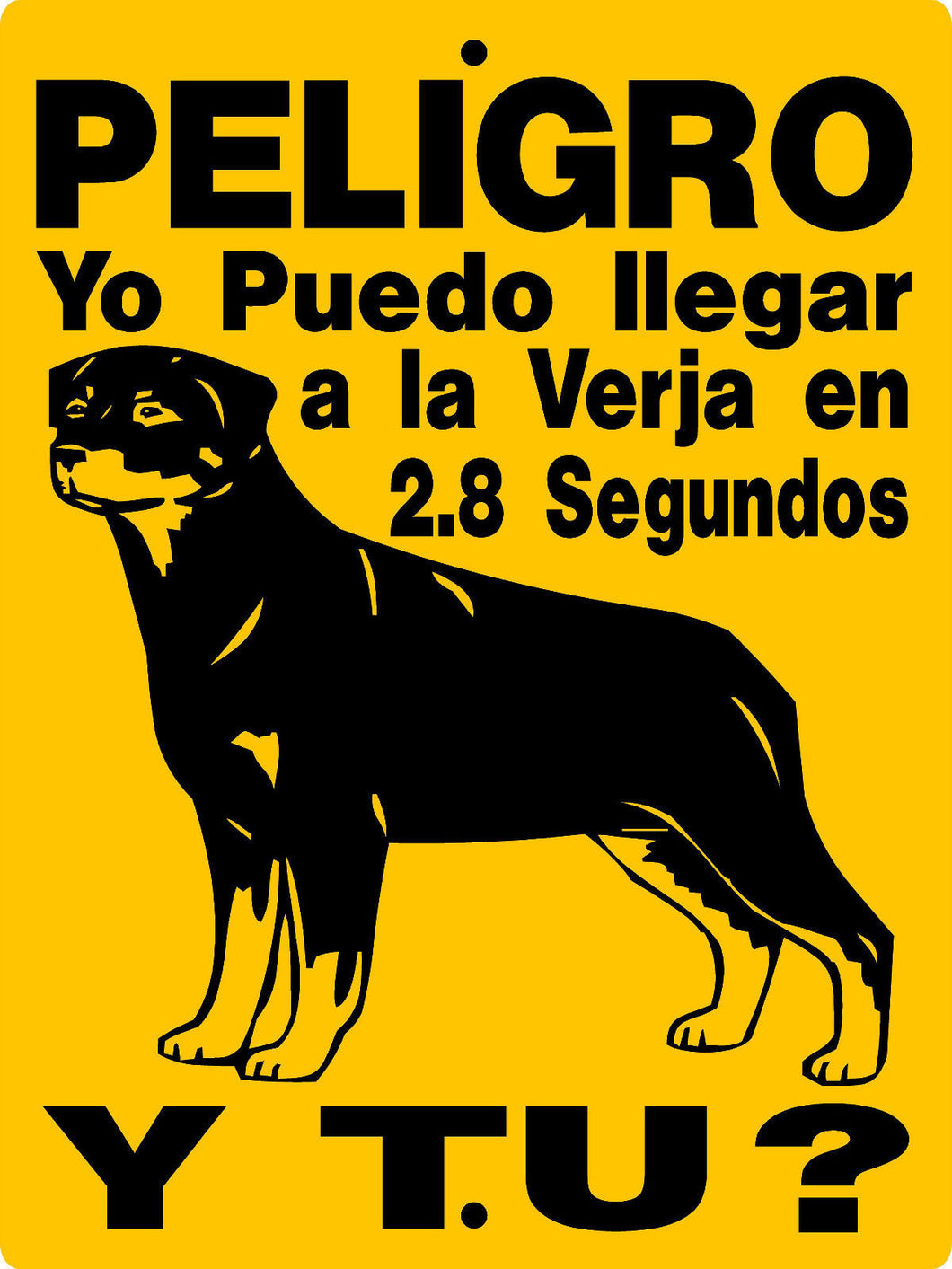 ROTTWEILER DOG SIGN 2827BRS