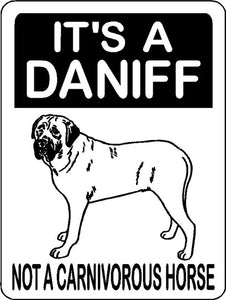 MASTIFF, BULL MASTIFF, ENGLISH MASTIFF, ALUMINUM DOG SIGN 3267