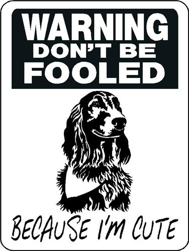 IRISH SETTER ALUMINUM DOG SIGN 3358