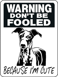 GREYHOUND ALUMINUM  DOG SIGN 3359