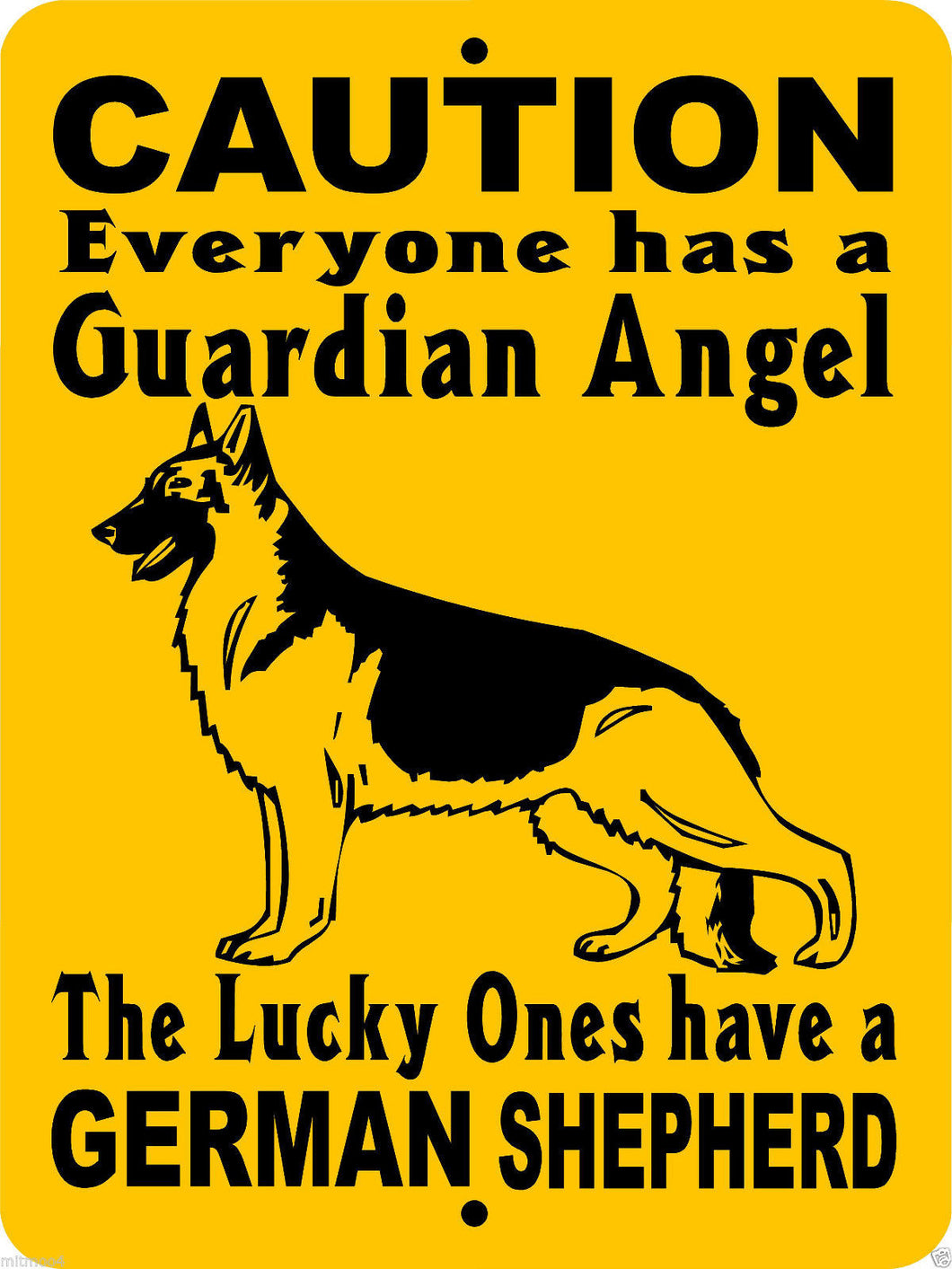 GERMAN SHEPHERD DOG SIGN GAGS1
