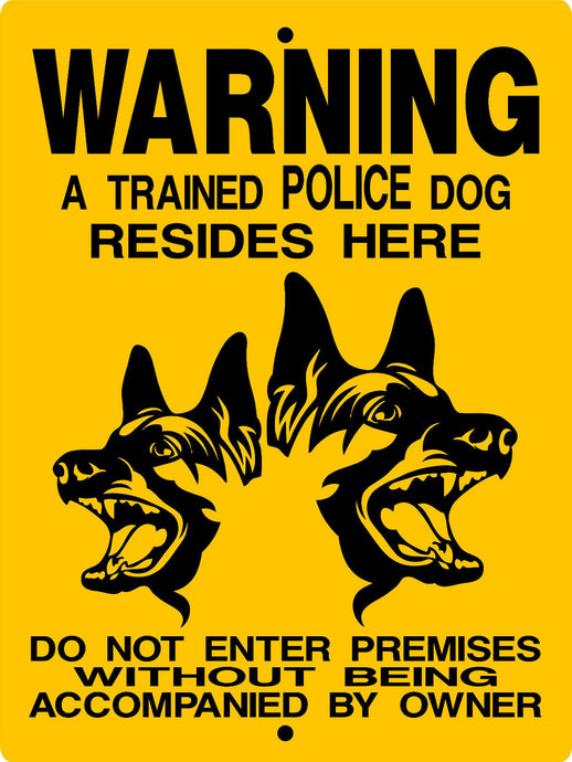 GERMAN SHEPHERD DOG SIGN GSM2CY