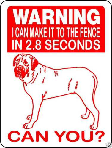 MASTIFF, BULL MASTIFF, ENGLISH MASTIFF, ALUMINUM DOG SIGN V2652A