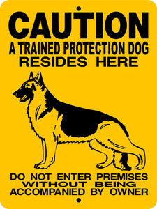 GERMAN SHEPHERD DOG SIGN CTPGS