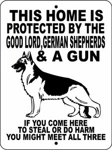 GERMAN SHEPHERD DOG SIGN GLGSGUNSHP