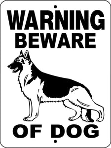 GERMAN SHEPHERD DOG SIGN WBODGS
