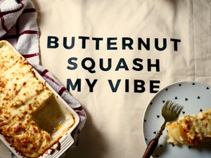 Butternut Squash My Potato Gratin