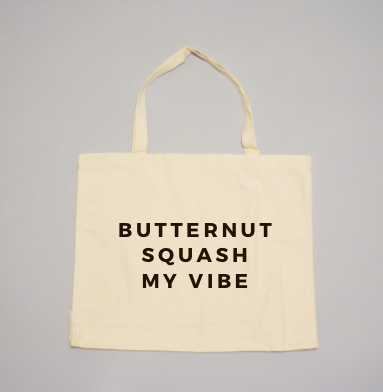 Butternut Squash My Vibe Tote