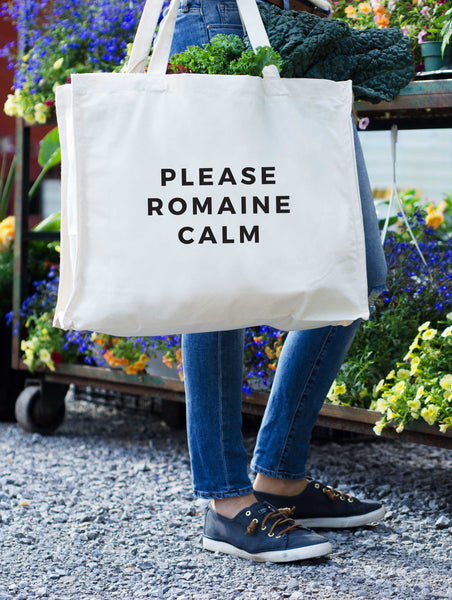 Please Romaine Calm Tote