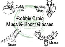 Robbie Craig Short Glass