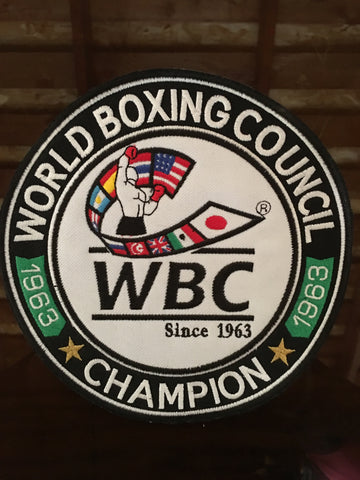 WBC Boxing Championship Patch