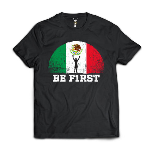 BE F1RST MEXICO T SHIRT. OFFICIAL SLY STALLONE MERCHANDISE