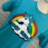 Combat Unicorn Graphic Tee
