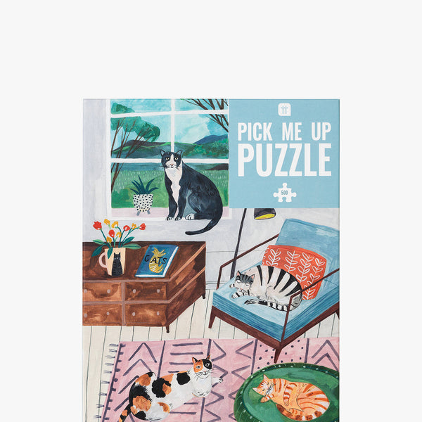 Adults Puzzle - Cats from TALKING TABLES only 14.00 GBP
