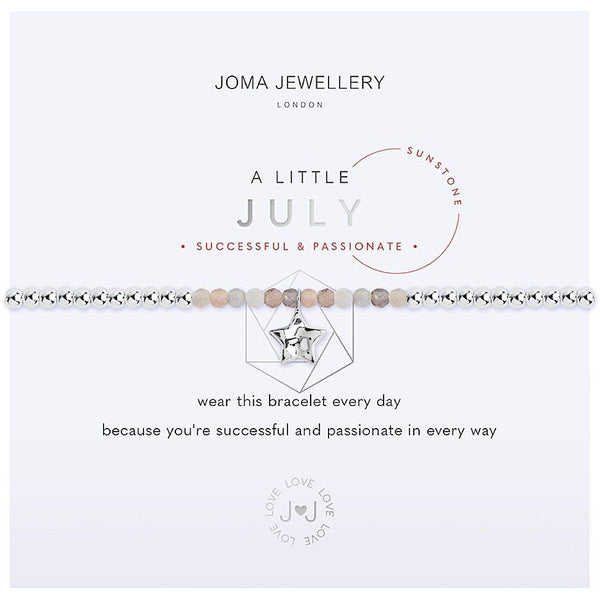 Joma Jewellery - July Birthstone - Sunstone - Successful & Passionate