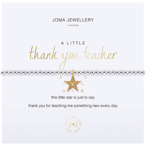 Joma Jewellery - Thank you Teacher