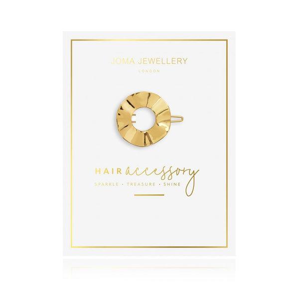 Joma Jewellery - Gold Hoop Hair Clip