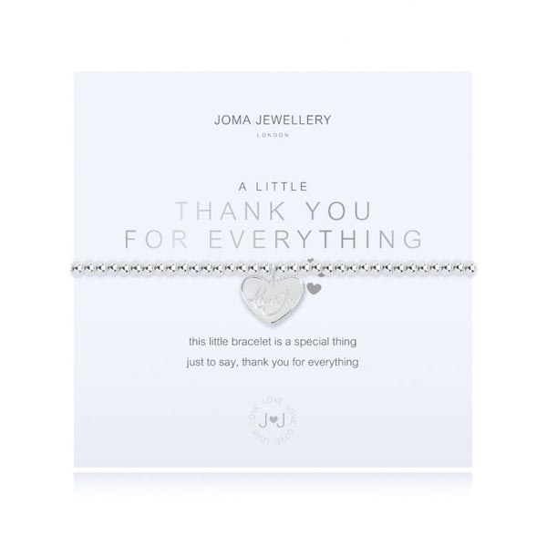 Joma Jewellery - Thank you For Everything Bracelet