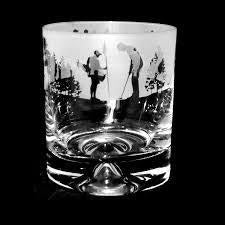 Whiskey Tumbler - Golf