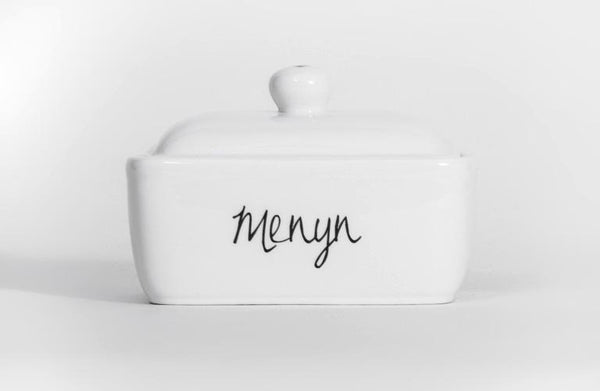 Welsh Connections - Menyn - Butter Dish