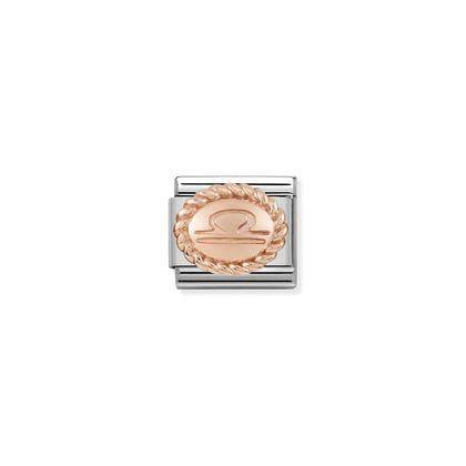 Rose Gold - Libra charm By Nomination Italy from Nomination only 54.00 GBP