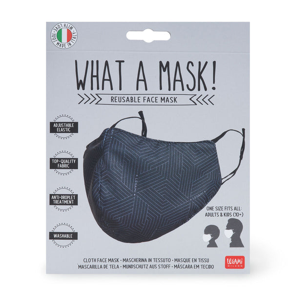 Reusable Face Mask - Geometric from legami only 12.95 GBP