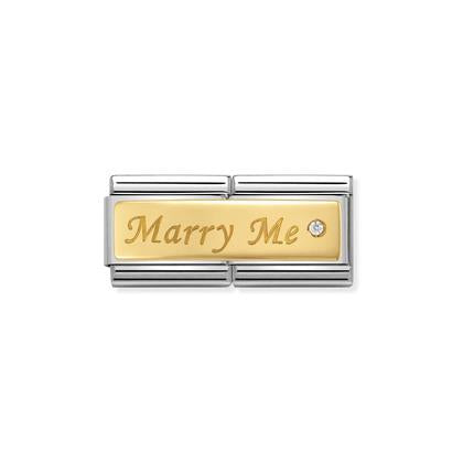 Double - Marry Me charm By Nomination Italy from Nomination only 69.00 GBP