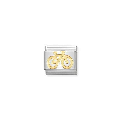 Gold Tech - Bike charm By Nomination Italy from Nomination only 18.00 GBP