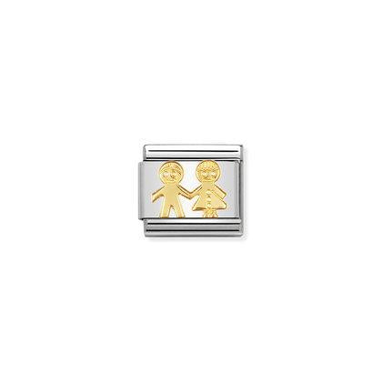 Gold Fun- Children charm By Nomination Italy from Nomination only 20.00 GBP