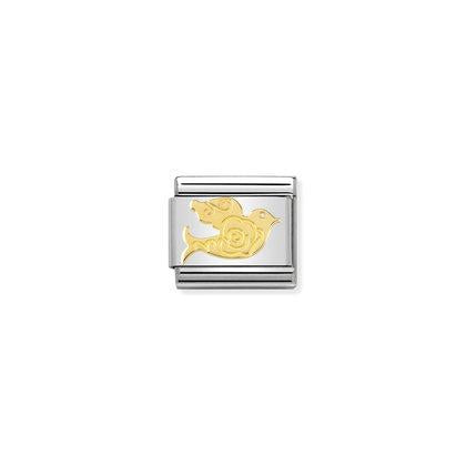 Gold - Dove Versailles charm By Nomination Italy from Nomination only 18.00 GBP