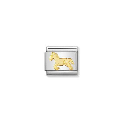 Gold Animals - Horse charm By Nomination Italy from Nomination only 18.00 GBP