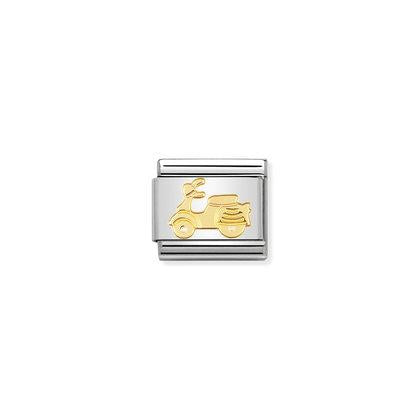 Gold Tech - Vespa charm By Nomination Italy from Nomination only 20.00 GBP