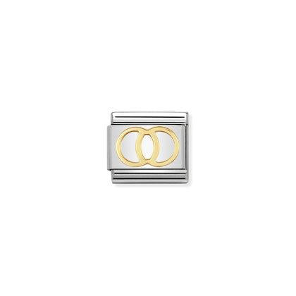 Gold Daily Life - Wedding Rings charm By Nomination Italy from Nomination only 18.00 GBP
