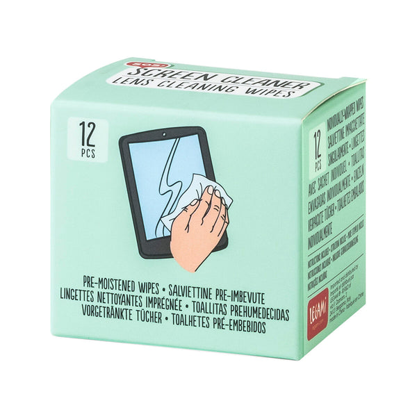 Screen Wipes - Pack Of 12