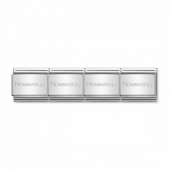 Composable classic Stainless Steel starter bracelet By Nomination Italy from Nomination only 13.00 GBP