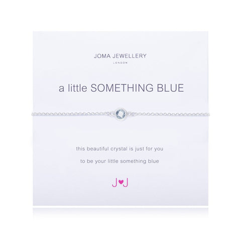 a little SOMETHING BLUE BRACELET By Joma Jewellery London - Official Stockists