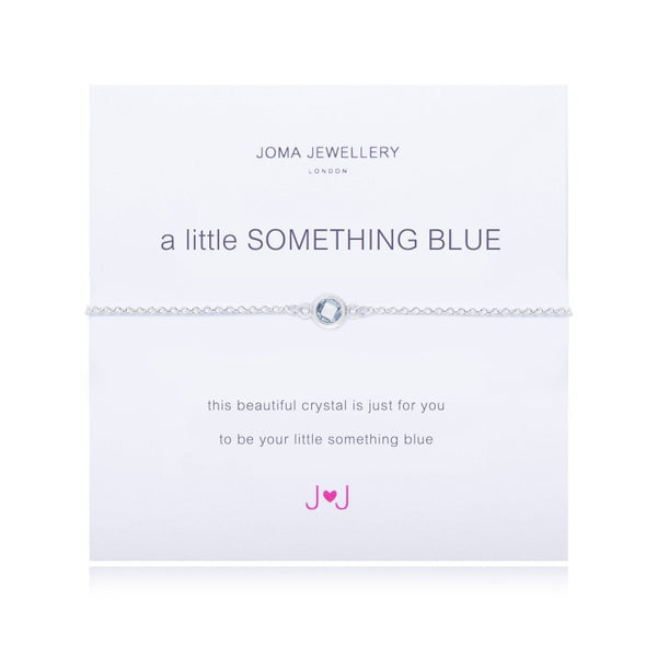 a little SOMETHING BLUE BRACELET By Joma Jewellery London - Official Stockists from Joma Jewellery only 14.99 GBP